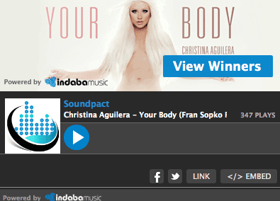 Christina Aguilera – Your Body (Soundpact Remix)
