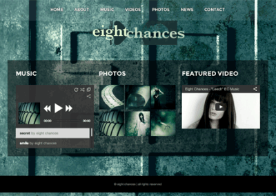 eight chances – Web Design