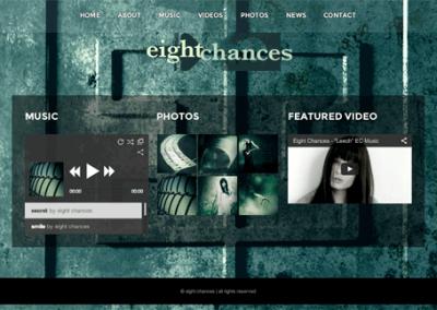 eight chances – Web Design