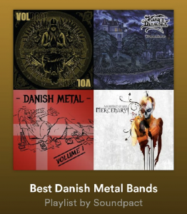 BEST DANISH METAL BANDS - Spotify Playlist by Soundpact